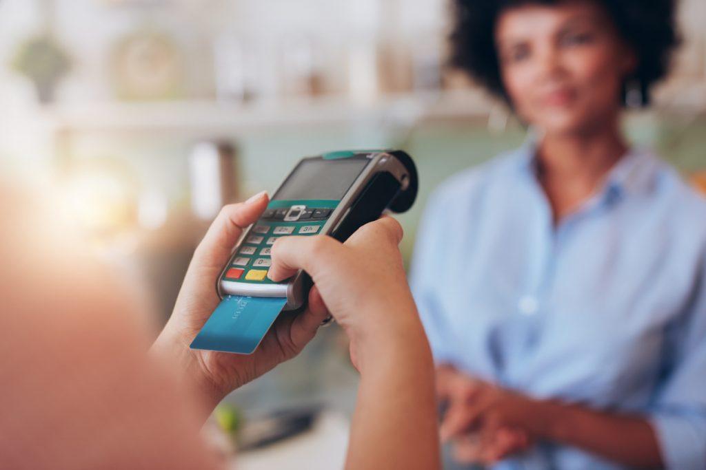 vendas com cartão de crédito