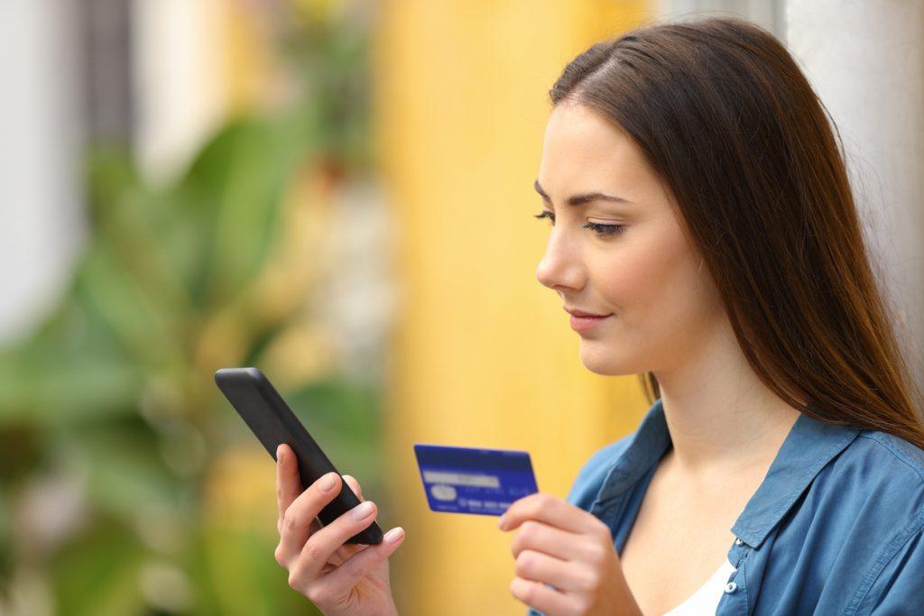 Transações via smartphone