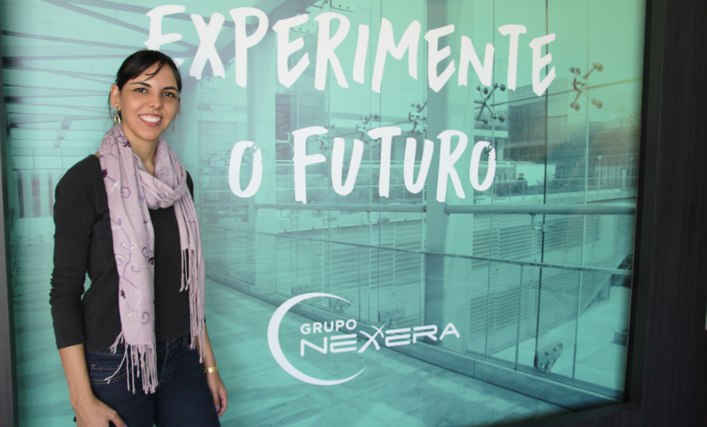 Fabiane Vieira da Rosa, psicóloga e analista de RH do Grupo Nexxera.